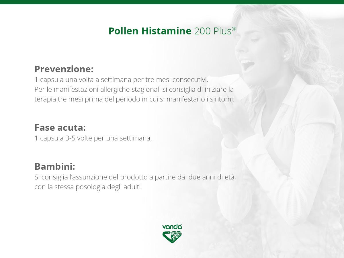 pollen histamine modo uso