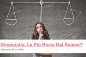 Omeopatia, La Più Ricca Del Reame?