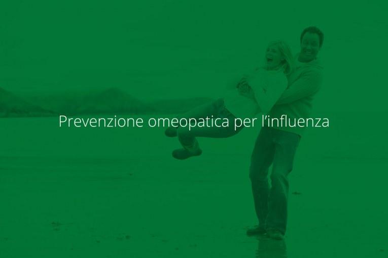 Prevenzione omeopatica per l'influenza