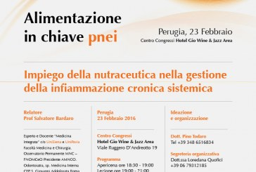 Alimentazione in chiave P.N.E.I. Impiego della nutraceutica nella gestione dell'infiammazione cronica sistemica.