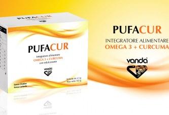 Pufacur, integratore di Curcuma, Pepe nero e Omega 3