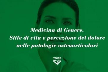 Medicina di Genere. Stile di vita e percezione del dolore nelle patologie osteoarticolari