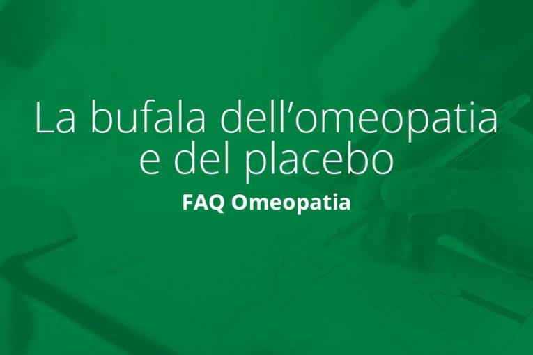 La bufala dell'omeopatia e del placebo