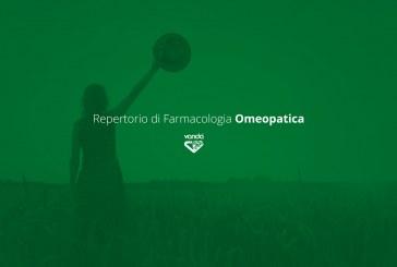 Repertorio di farmacologia omeopatica per il trattamento delle sindromi allergiche stagionali e perenni