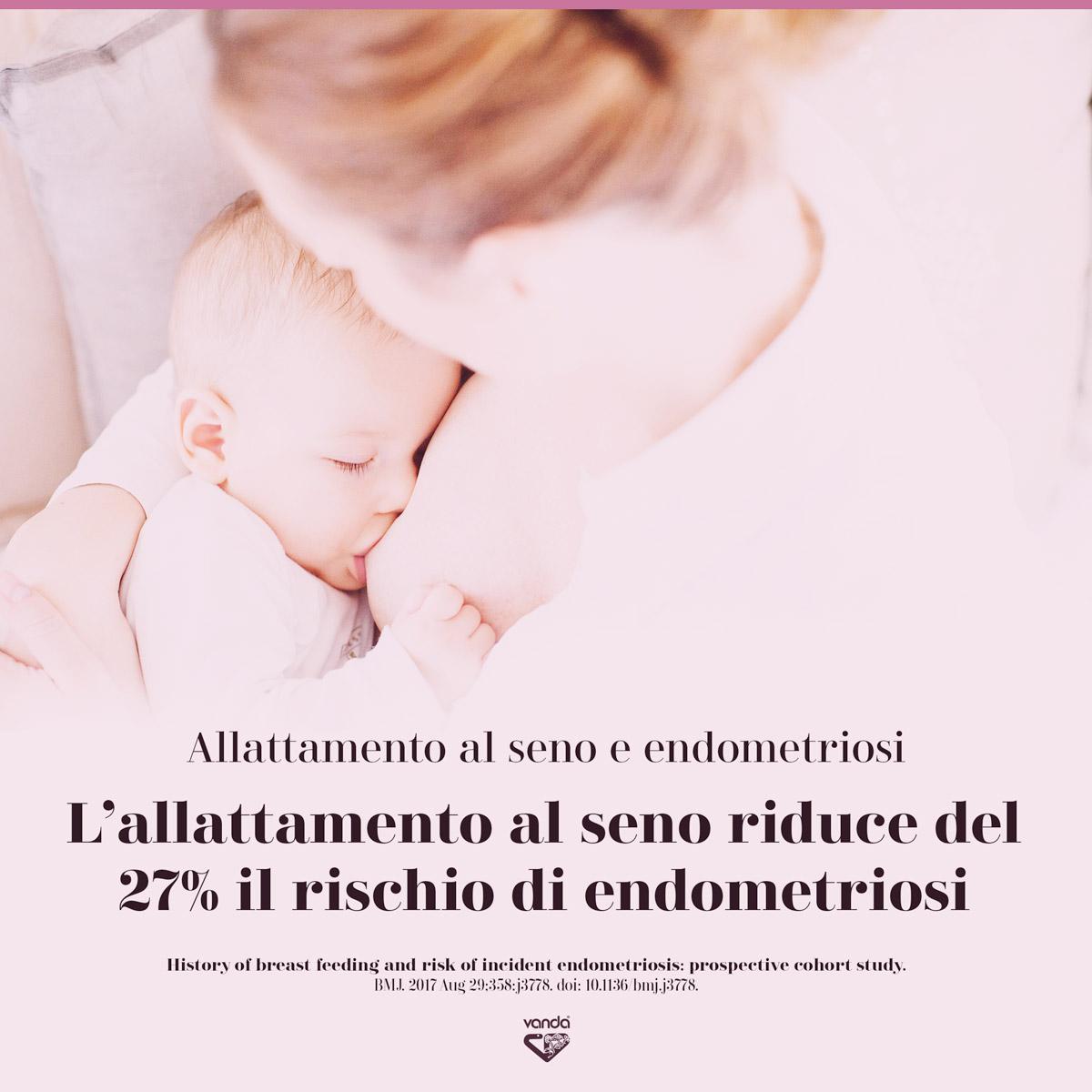 allattamento al seno endometriosi