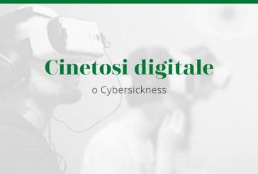 Cinetosi digitale o Cybersickness