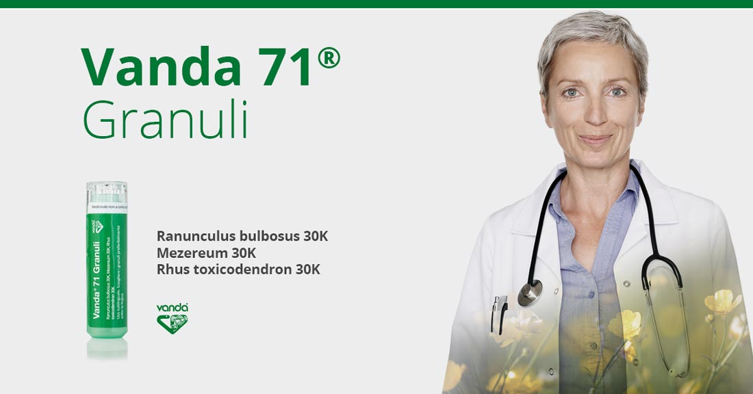 Rimedio omeopatico herpes Vanda 71