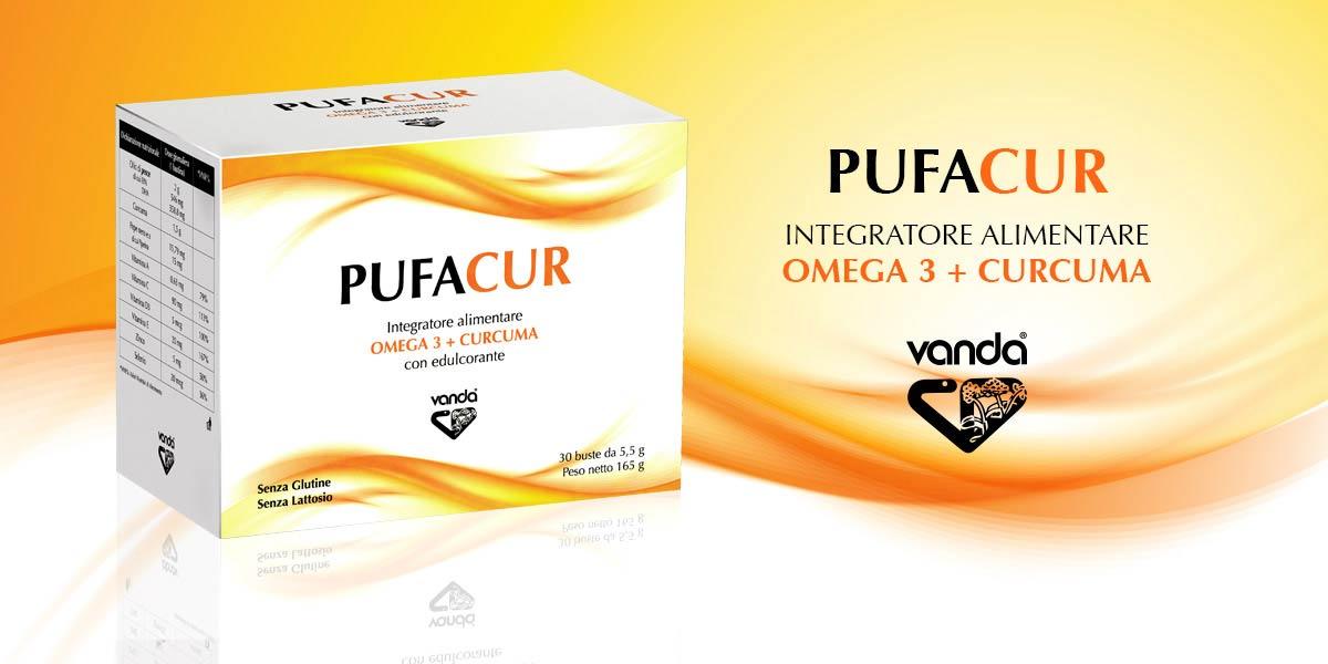 pufacur integratore curcuma e omega 3