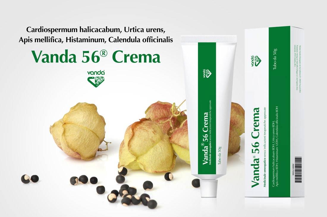vanda 56 crema pomata dermatite cardiospermum
