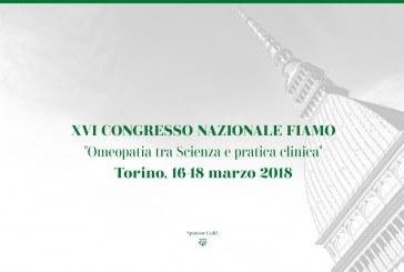 """XVI CONGRESSO NAZIONALE FIAMO: """"Omeopatia tra Scienza e pratica clinica"""""""