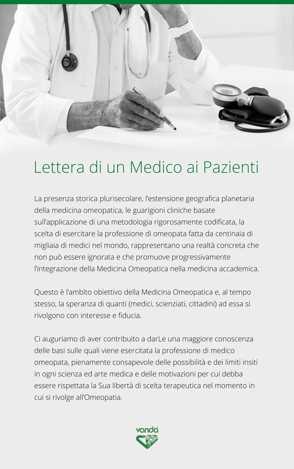 infografica medico omeopatia