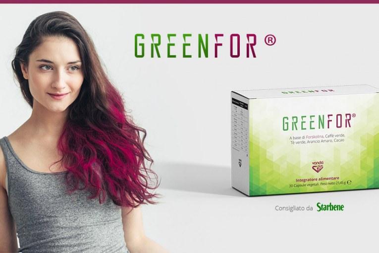 Starbene consiglia Greenfor®. Più snella con un termogenico naturale