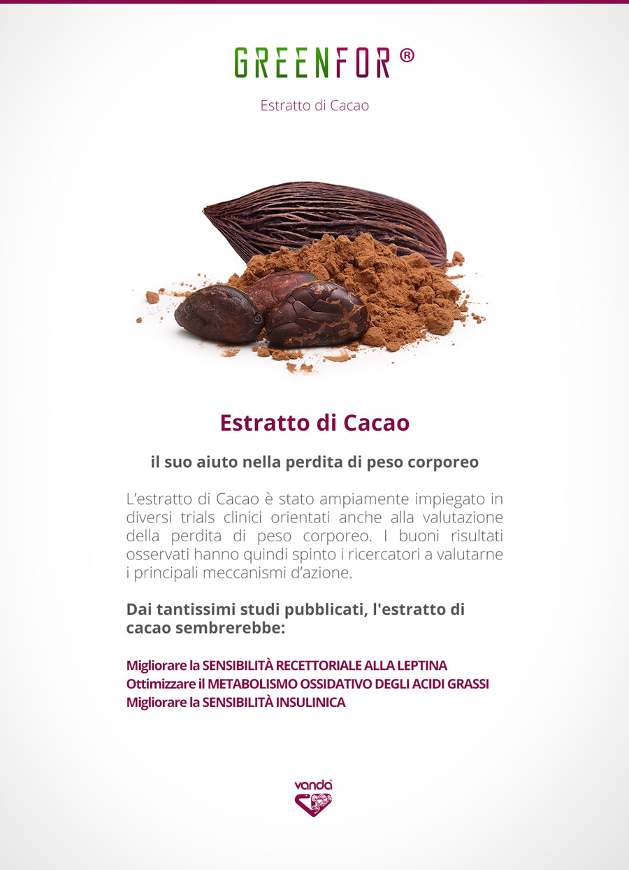 cacao proprietà dimagranti greenfor