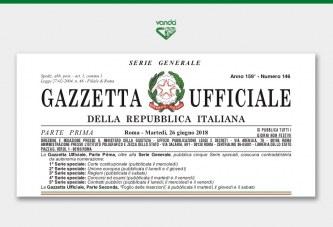 Gazzetta Ufficiale: A.I.C. «Vanda 2», «Vanda 12», «Vanda 15»  e  «Vanda 37»