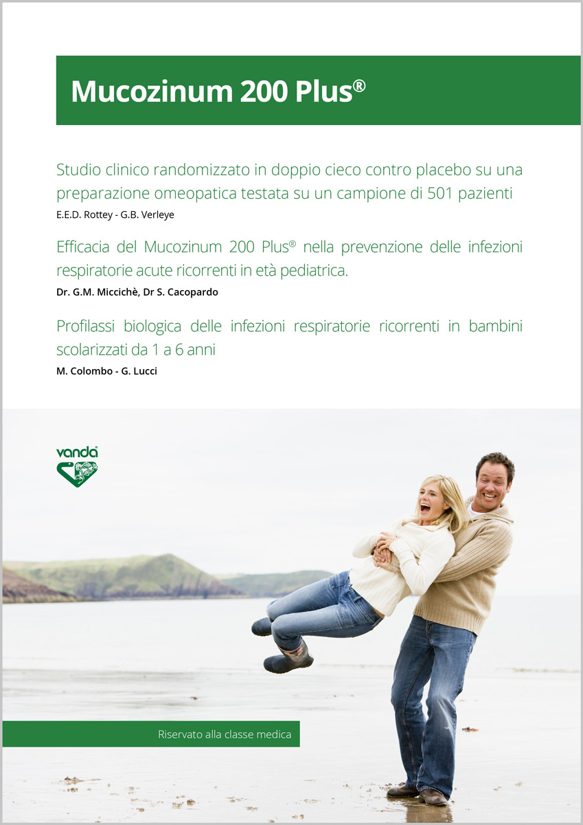 Mucozinum Vanda rimedio omeopatico influenza