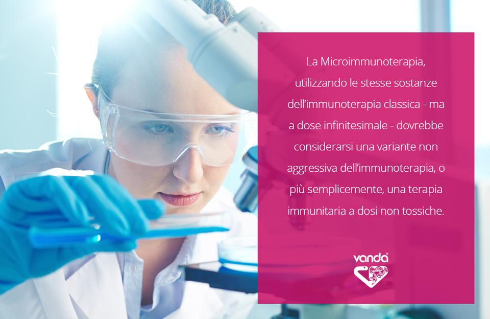 microimmunoterapia terapia immunitaria a dosi non tossiche