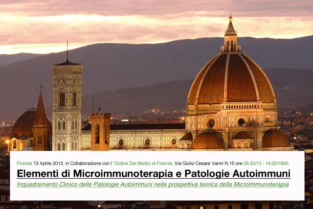 Elementi di Microimmunoterapia e Patologie Autoimmuni