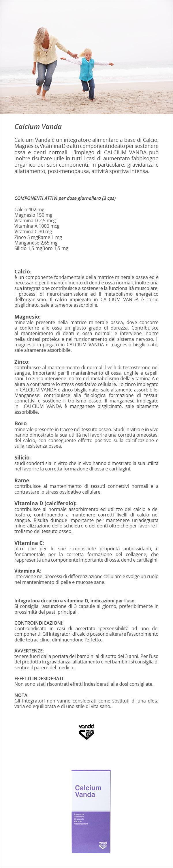 infografica integratore calcio vitamina d