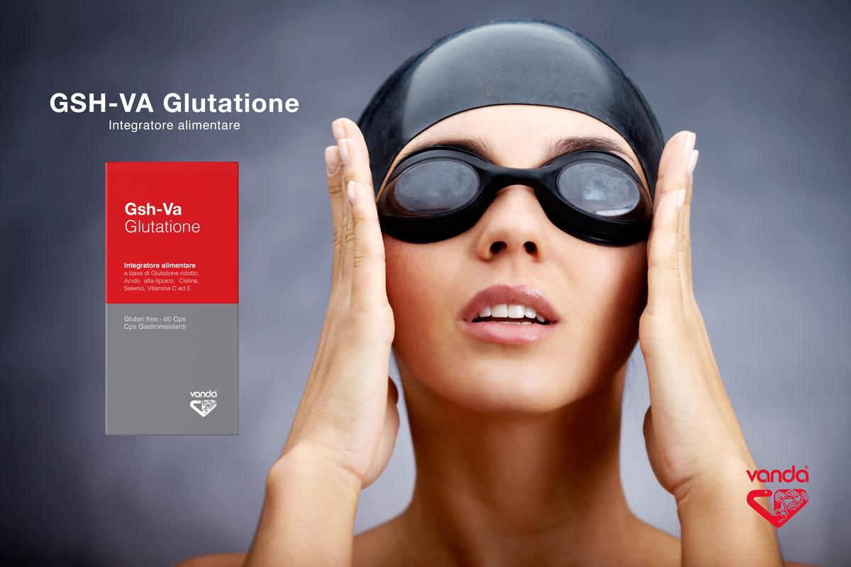 Integratore antiossidante completo GHS-VA Glutatione Vanda