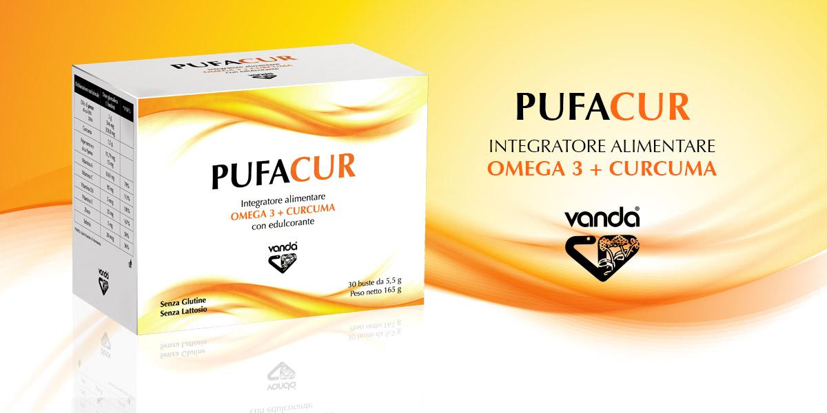 Pufacur integratore di Curcumina e Omega 3