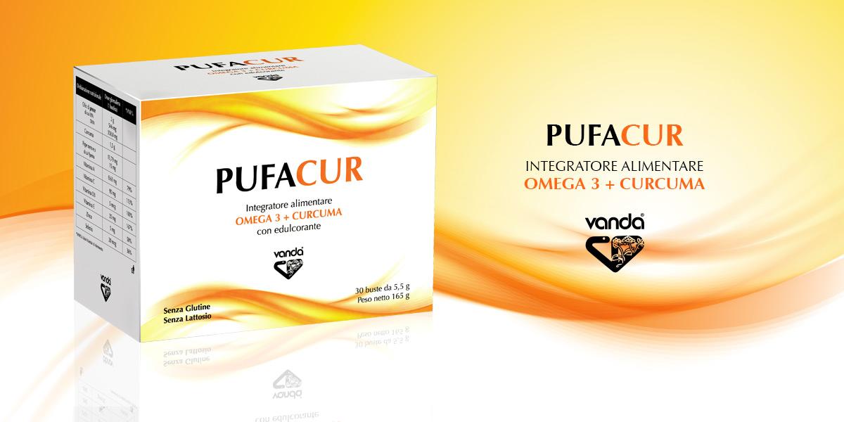 pufacur integratore alimentare a base di curcumina e omega3