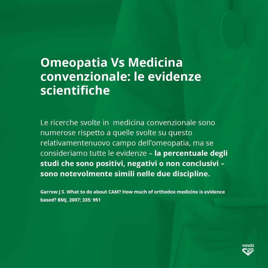 Confronto tra Omeopatia e Medicina convenzionale sulle evidenze scientifiche