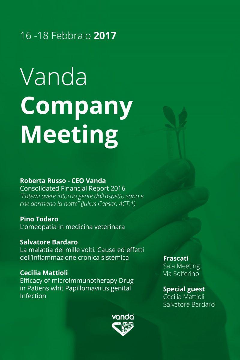 vanda omeopatici company meeting