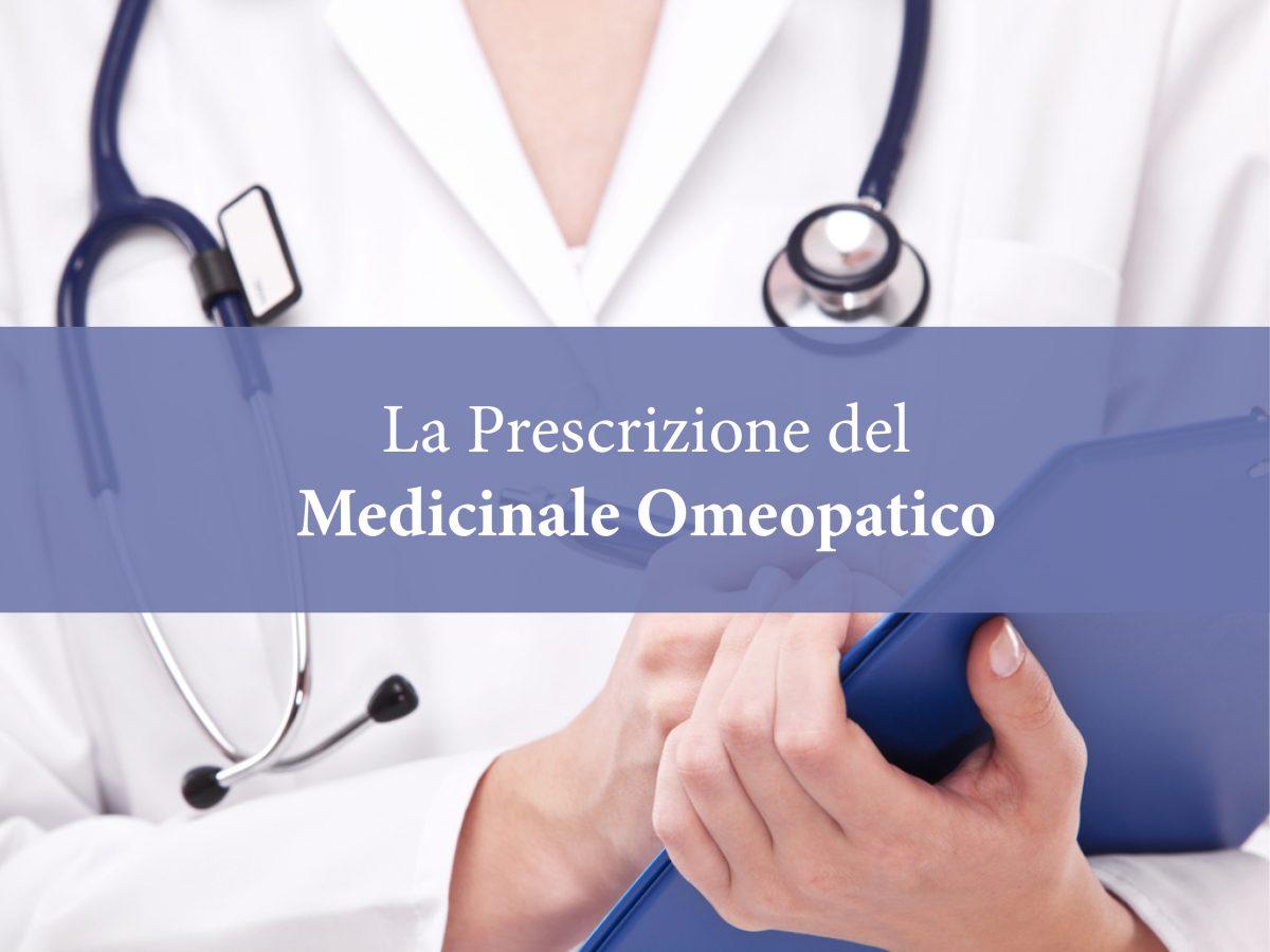 I.R.M.S.O. - La Prescrizione del Medicinale Omeopatico