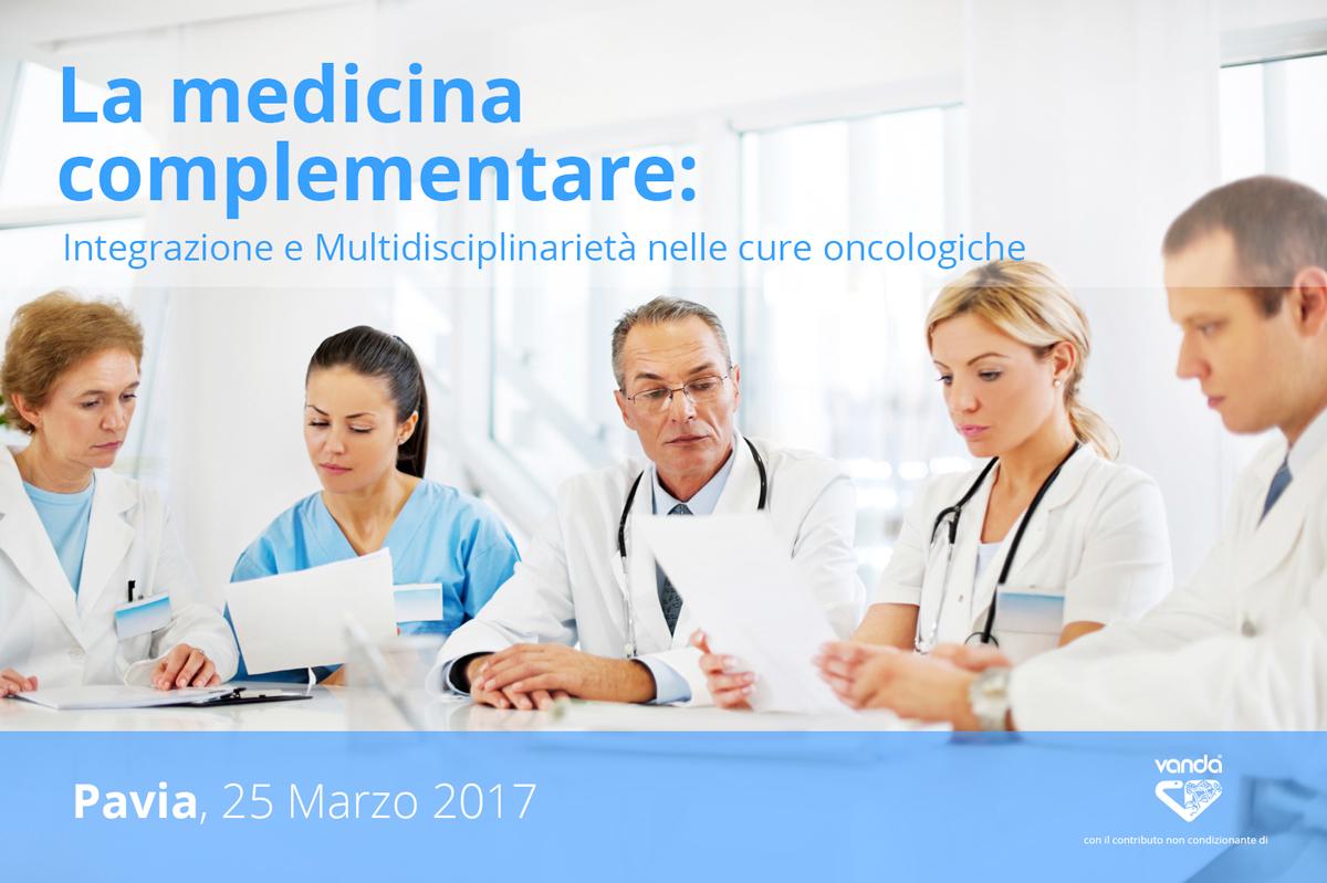 medicina integrata nel trattamento dei tumori. seminario a pavia. sponsor vanda omeopatici