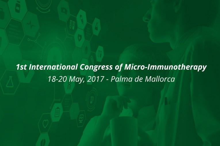 1° congresso mondiale di Microimmunoterapia - 18-20 Maggio - Palma di Maiorca