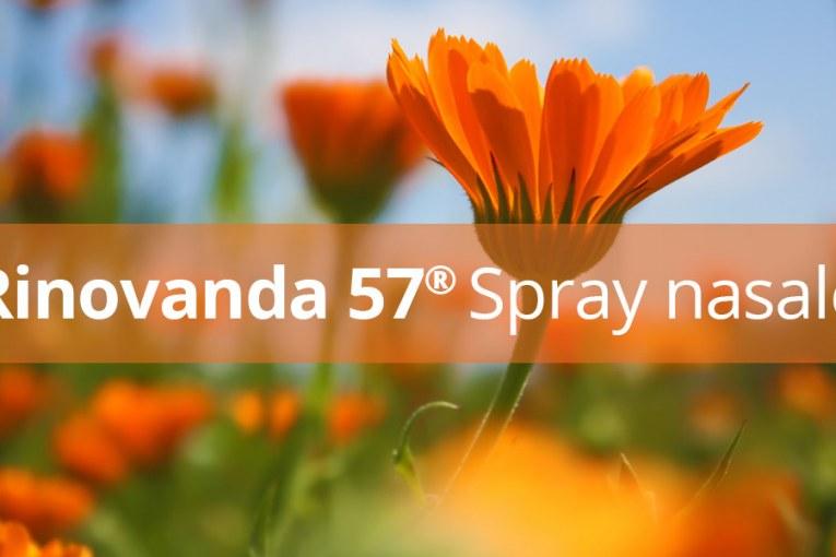 Rinovanda 57 Spray Nasale naturale agli estratti di calendula