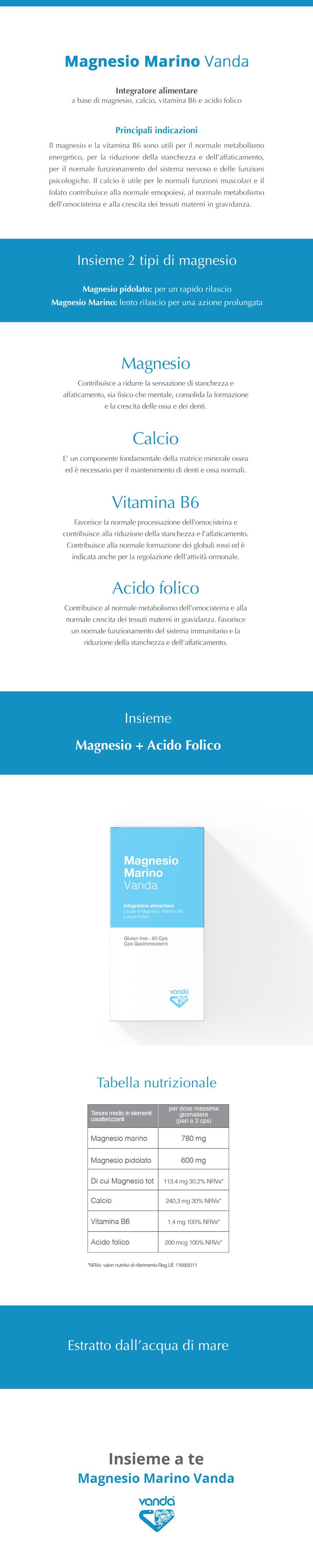 magnesio marino Vanda