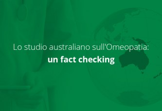 Lo studio australiano sull'Omeopatia: un fact checking