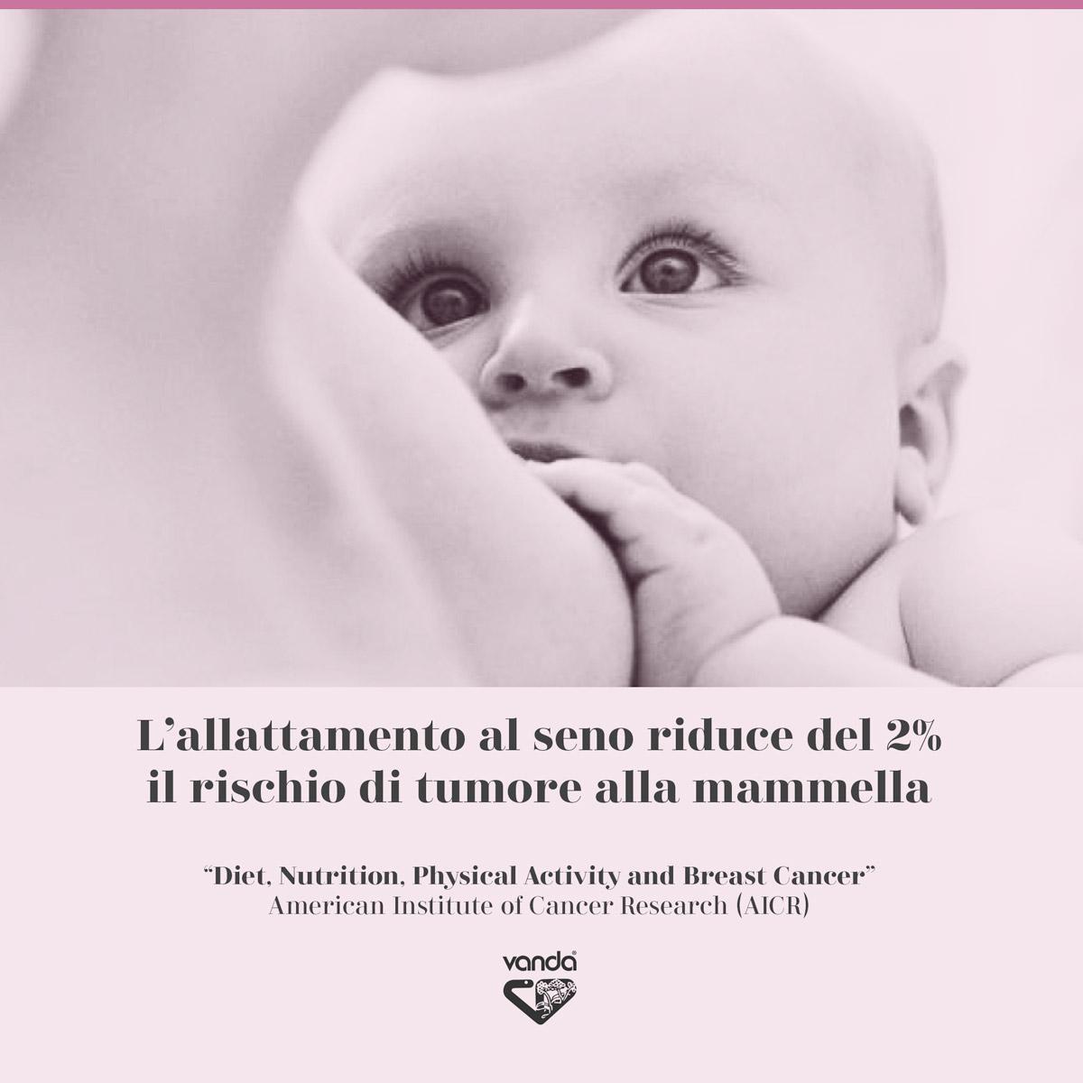 infografica allattamento al seno