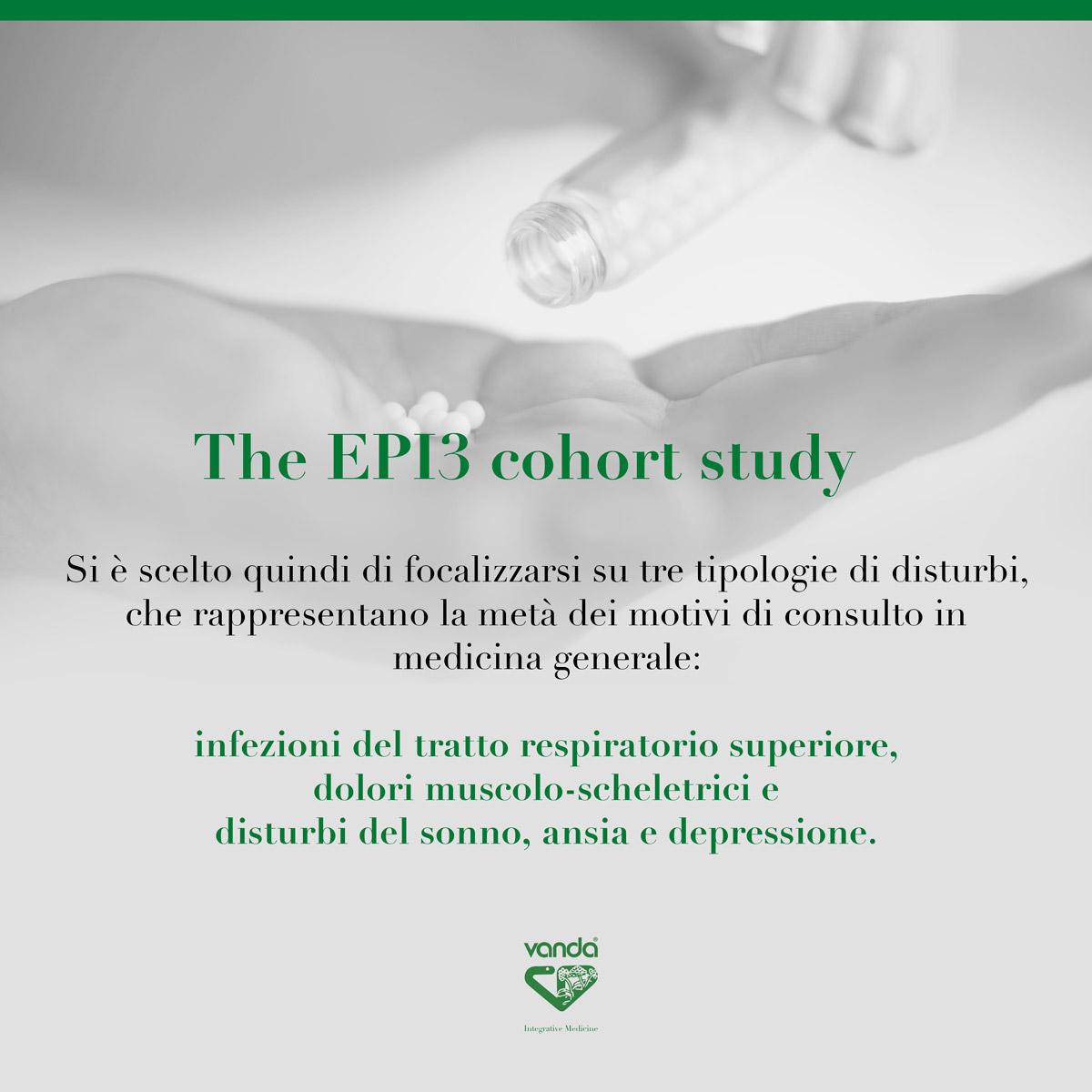 epi3 studio di coorte sull'omeopatia 2017