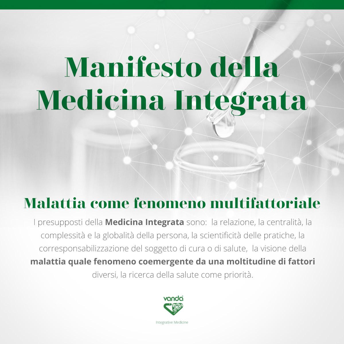 la medicina integrata interpreta la malattia come un fenomeno multifattoriale