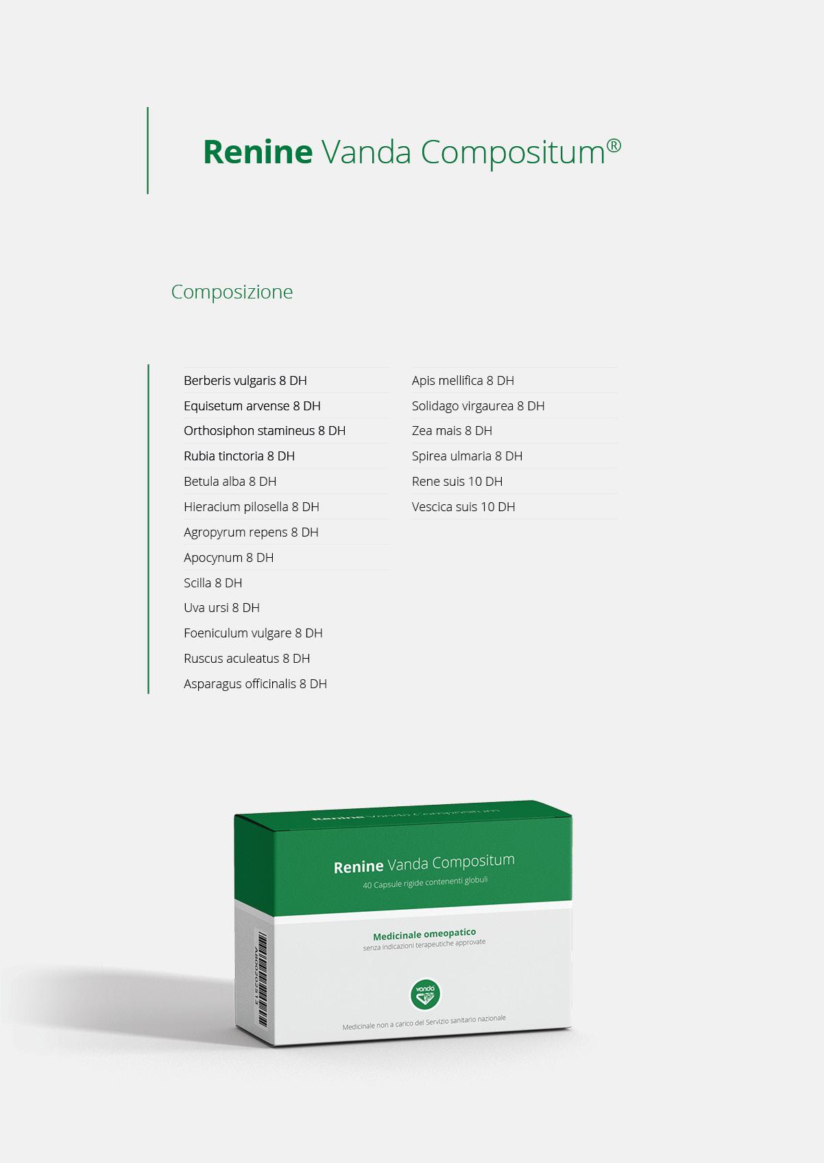 Renine Medicinale Omeopatico