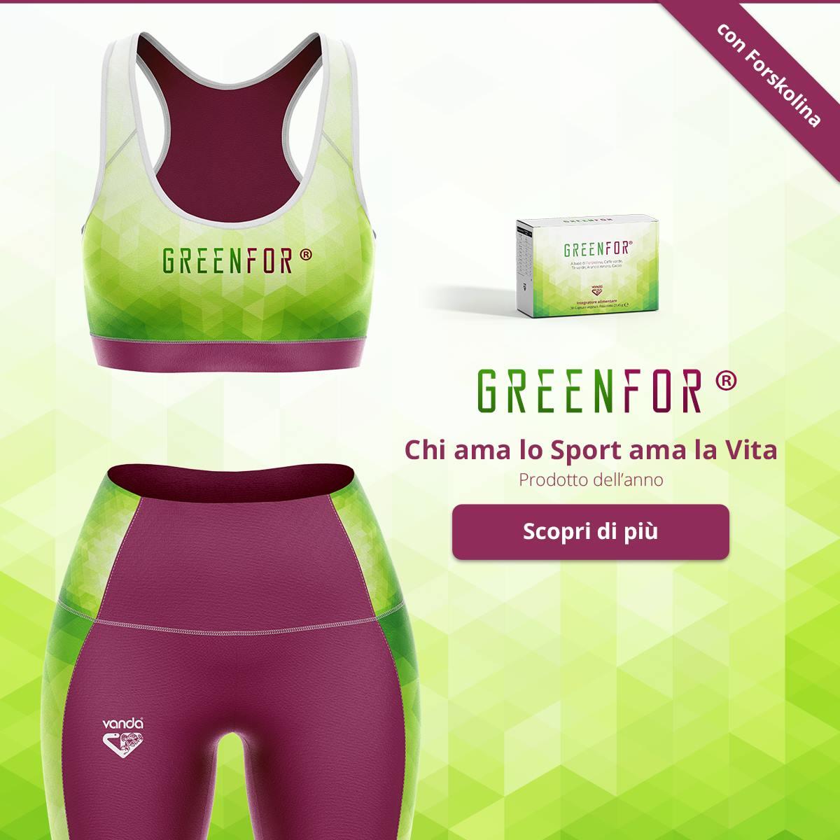 greenfor vanda termogenico naturale