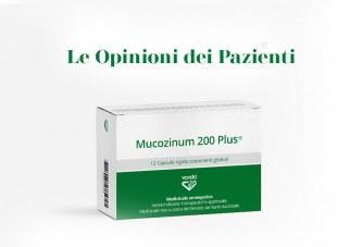 Mucozinum 200 Plus®: Le opinioni dei pazienti