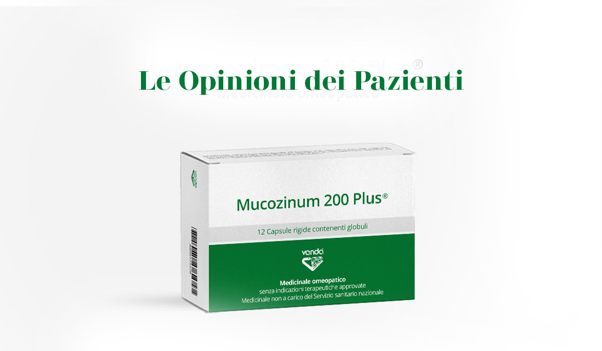 Mucozinum 200 Plus®: Cosa dicono i pazienti?