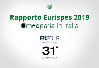 Rapporto Eurispes 2019: tutti nuovi dati sull'omeopatia in Italia e nel Mondo