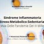 Milano, 4 date: Sindrome Infiammatoria Stress-Metabolico-Sedentaria: Crocevia Delle Pandemie Del III Millennio