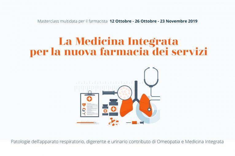 Roma, Masterclass per Farmacisti: La Medicina Integrata per la nuova farmacia dei servizi