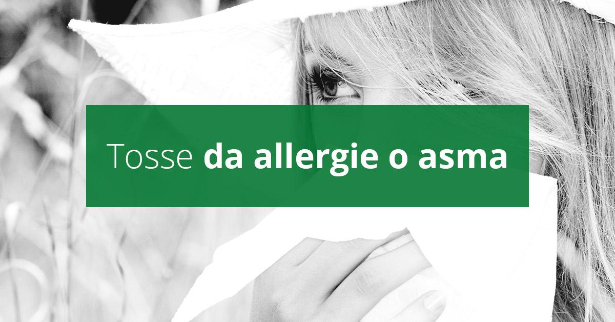 Tosse da allergie o asma