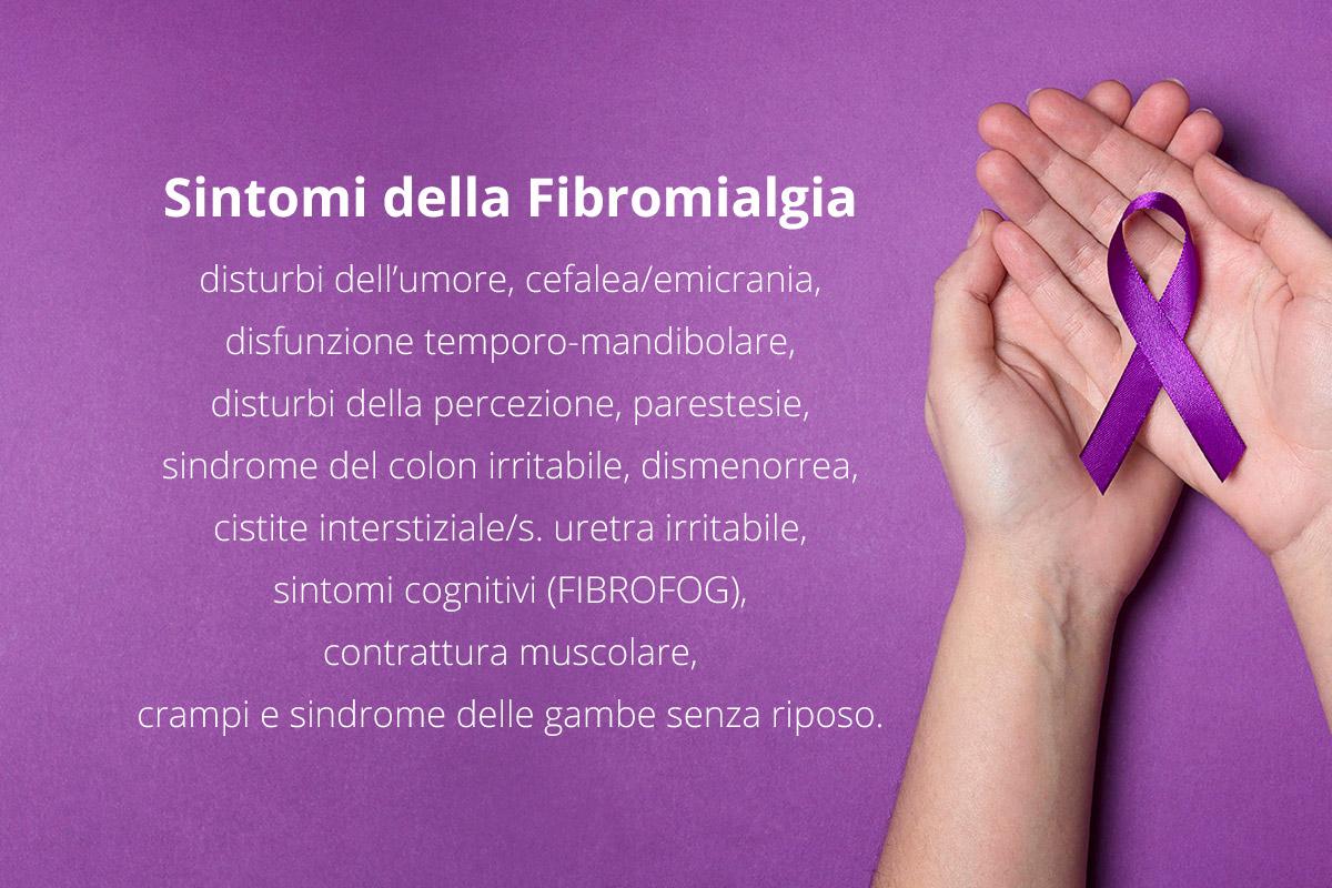 sintomi della fibromialgia (infografica)