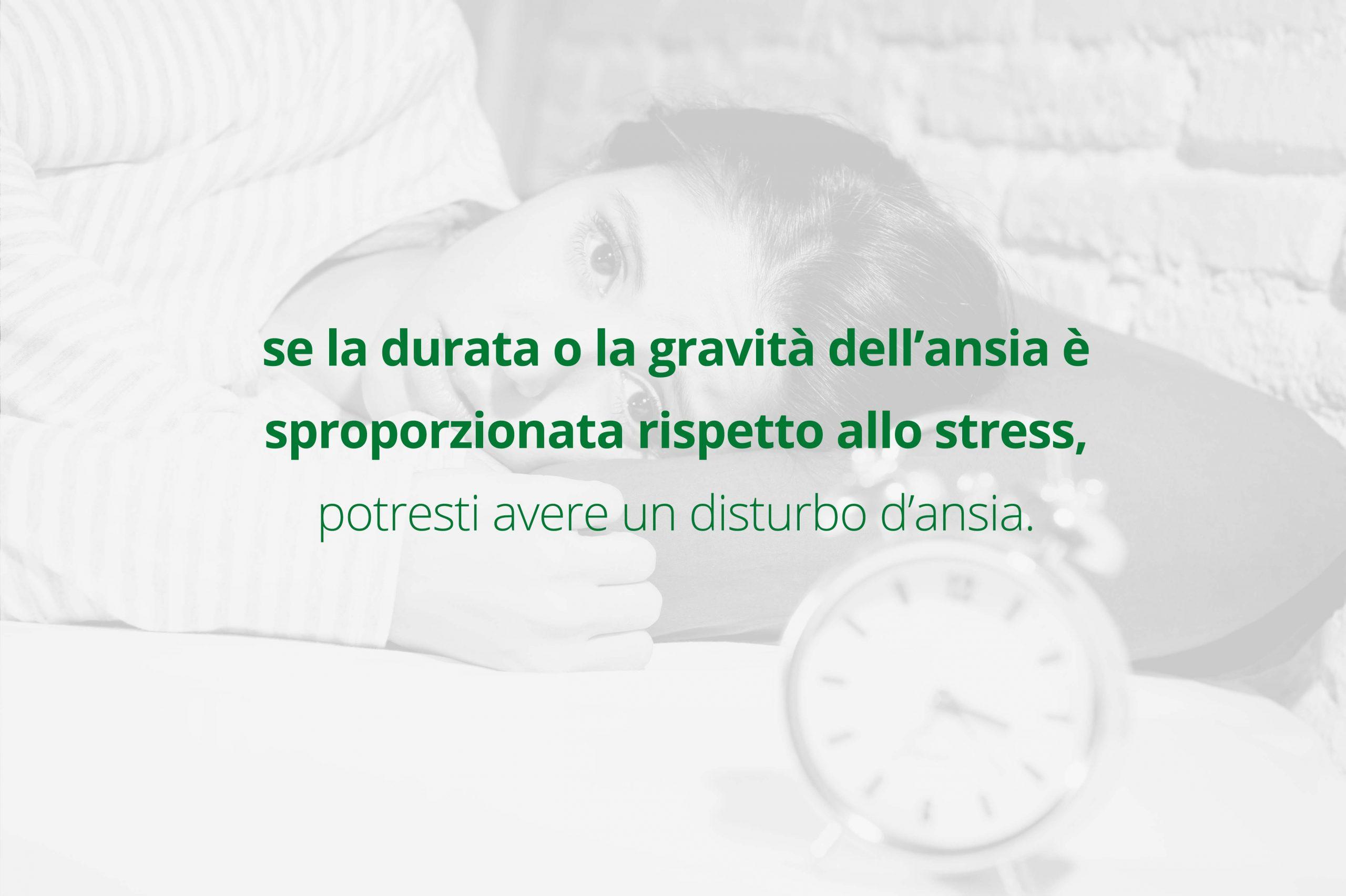stress eccessivo ansia