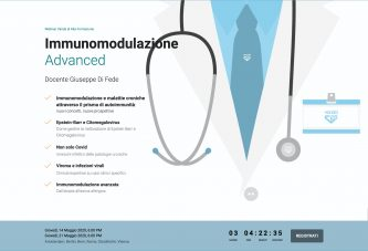 Immunomodulazione Advanced. Immunomodulazione e malattie croniche attraverso il prisma dell' autoimmunità