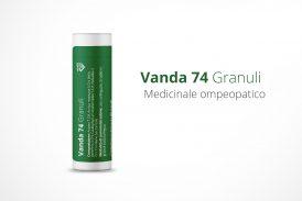 Vanda 74 Granuli. Medicinale omeopatico