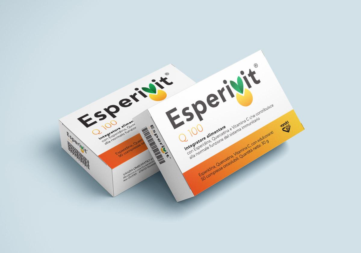 """""""È nato Esperivit!"""". Nuovo integratore con esperidina, quercetina e Vit.C"""